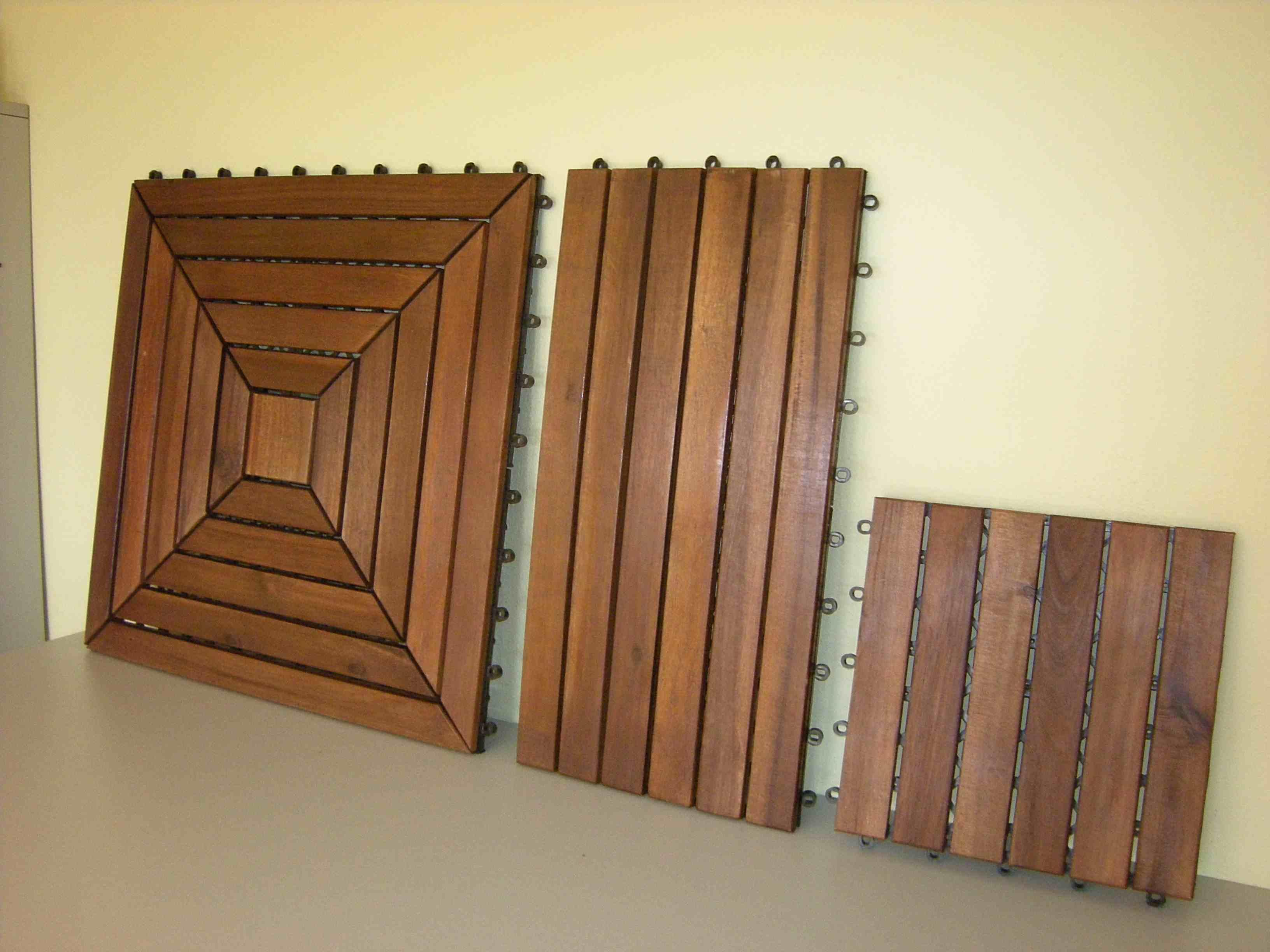 akazie holzfliesen stecksystem. Black Bedroom Furniture Sets. Home Design Ideas