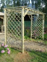 Garden Products Pine Pinus Sylvestris - Redwood - beutiful PERGOLA