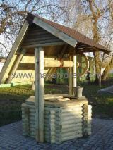 Tuinproducten FSC - Den (Pinus sylvestris) - grenenhout, Колодец. Draw well., FSC