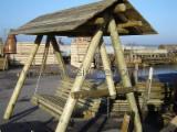 Tuinproducten FSC - Den (Pinus sylvestris) - grenenhout, Kinderspelen - Schommels, FSC