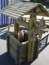 Tuinproducten FSC - Den (Pinus sylvestris) - grenenhout, Колодец. Draw well decorative., FSC