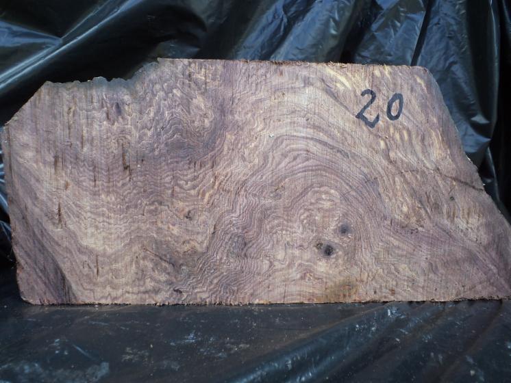 Burls, rosewood