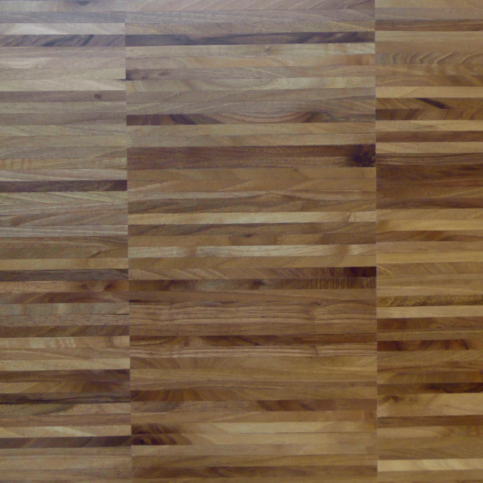 胡桃木(欧洲的), 拼花实木地板