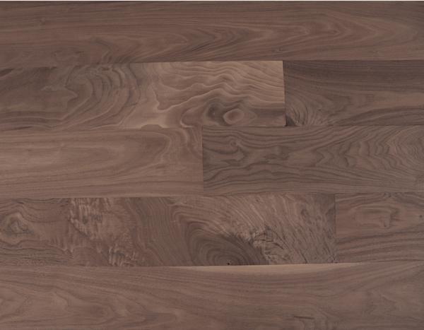 胡桃木(美洲黑色), 企口地板