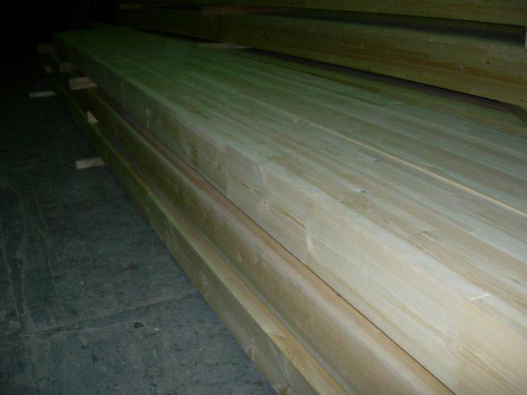 Glulam   straight beams, Russia