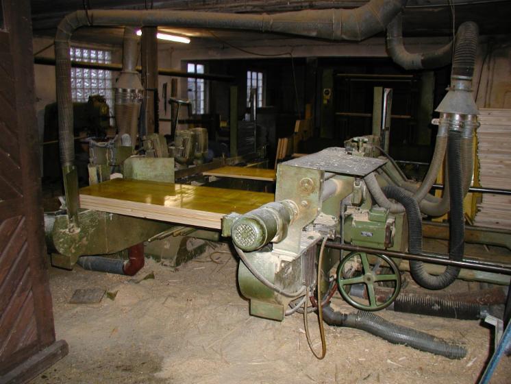 Saws, Schalungsplattenherstellung