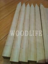 Larch Pegs for Fences