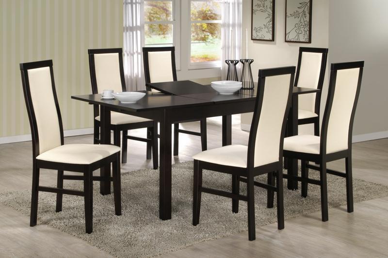 Ensemble table ronde et chaise salle a manger - Chaise pour table a manger ...