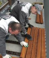CLICK - Thermo-Ash terrace decking board system 21x93x800/1000/1200mm