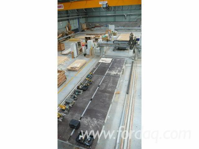 Complete production line, Ligne de production ossature bois