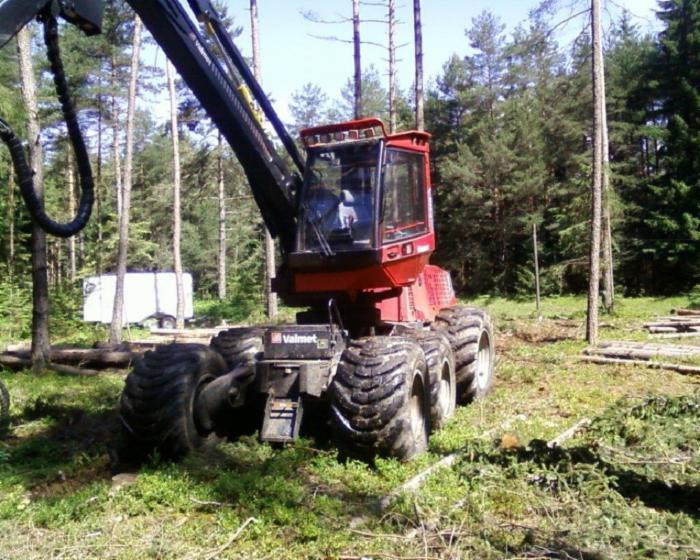 Skidding   Forwarding, Harvester