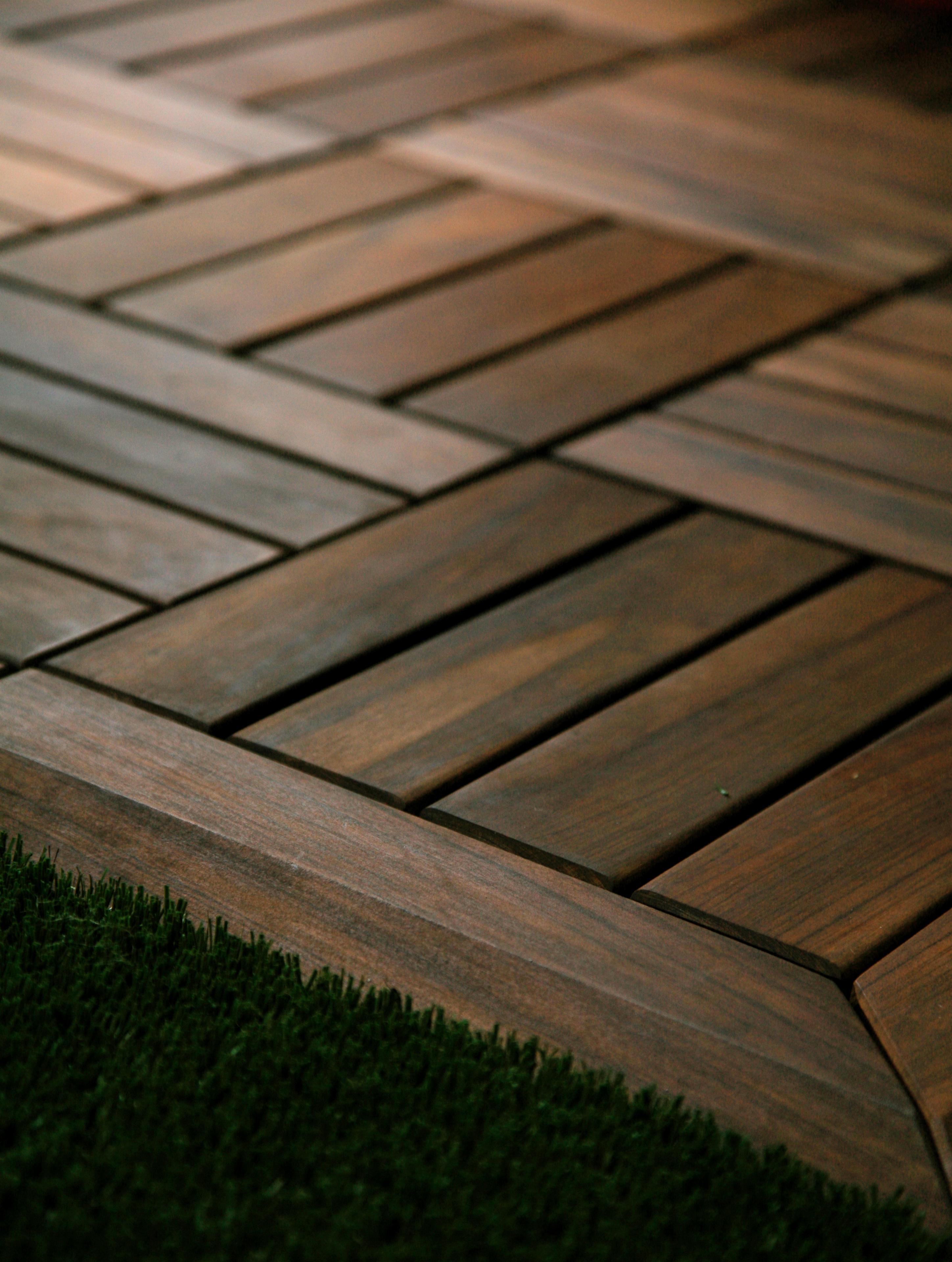 南美洲蚁木, 花园铺路木砖图片
