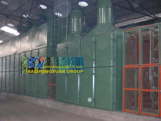 Wood treatement equipment and boilers, Drier (Veneer drier)