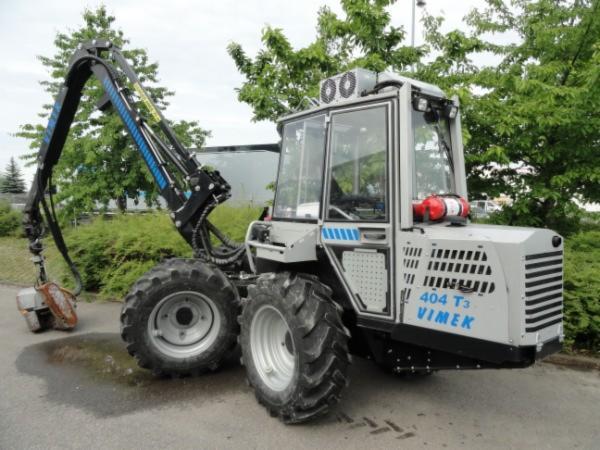 Used Vimek 404 T3 2008 / 840 H Harvester For Sale Germany