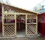 Romania Garden Products - Spruce (picea Abies) - Whitewood Pergola - Arbour from Romania