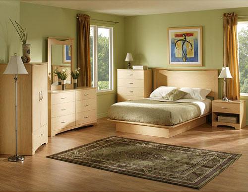 Ensemble pour chambre coucher rustique campagne 50 0 for Ensemble de chambre a coucher en bois