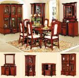 Dining Room Furniture - Traditional MDF Panel Furnir Natural Din Lemn De Fag Finisaj Mat Lucios Dining Room Sets Nord Vest in Romania