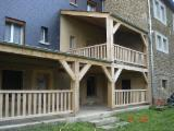 Sawn And Structural Timber Oak - PEFC Oak Beams F 1 from Belgium, Ardennes