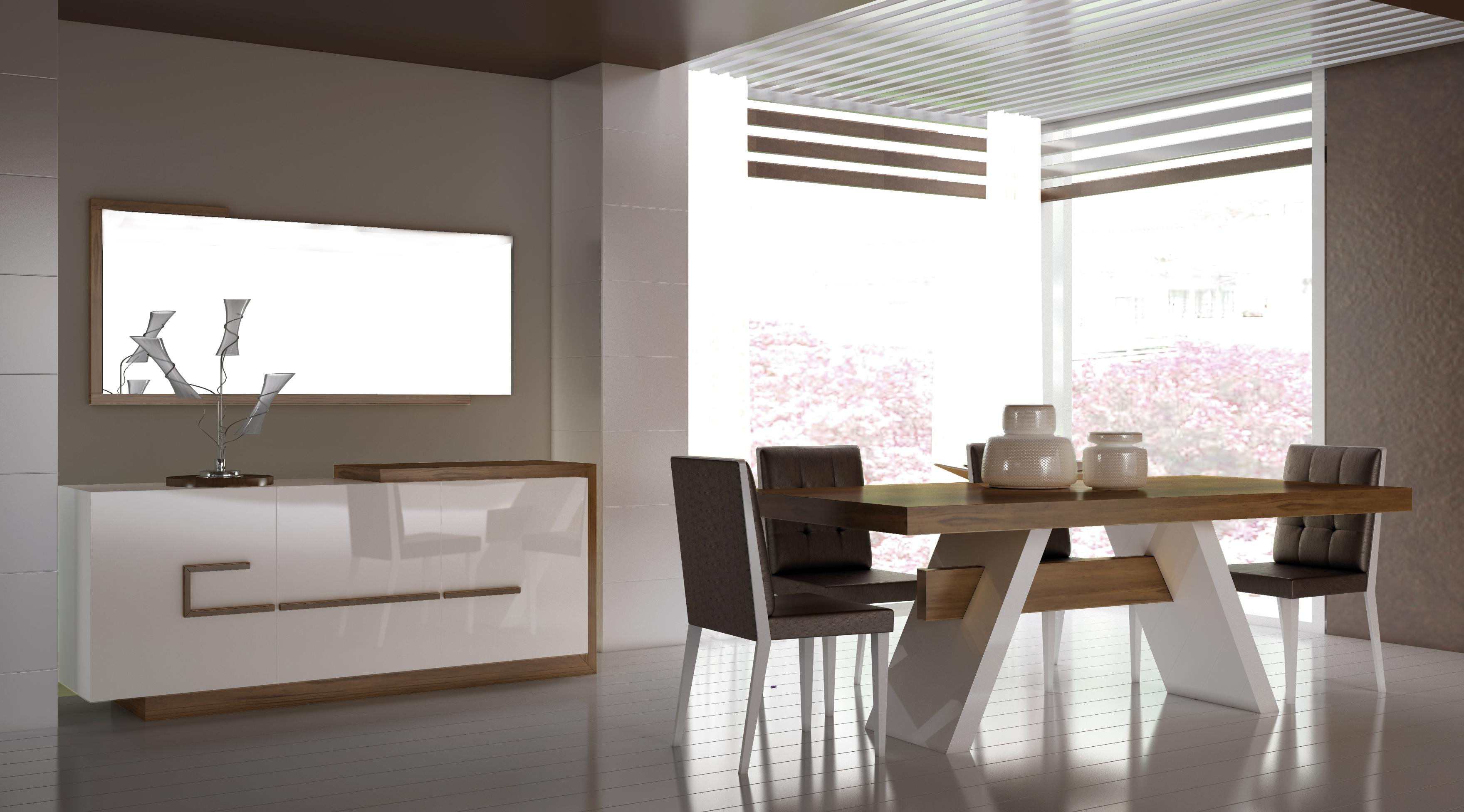 Excellence in simplicity for Ensemble salle a manger conforama