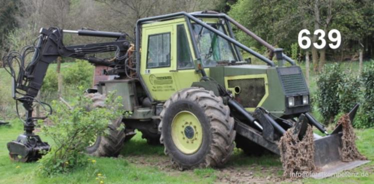 Skidding   Forwarding, Articulated skidder