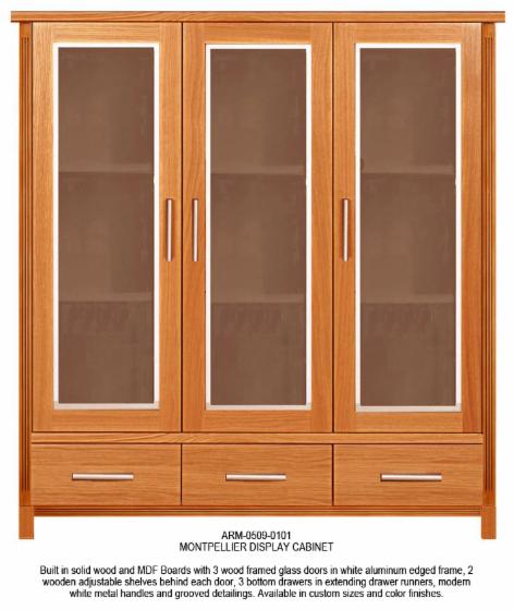 Display Cabinet, Contemporary