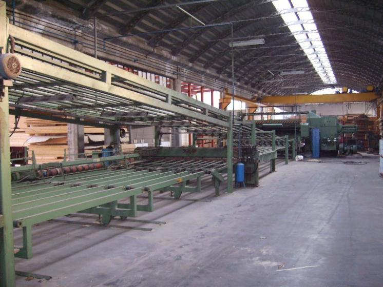 Complete production line, TELESCOPING PEELING LINE