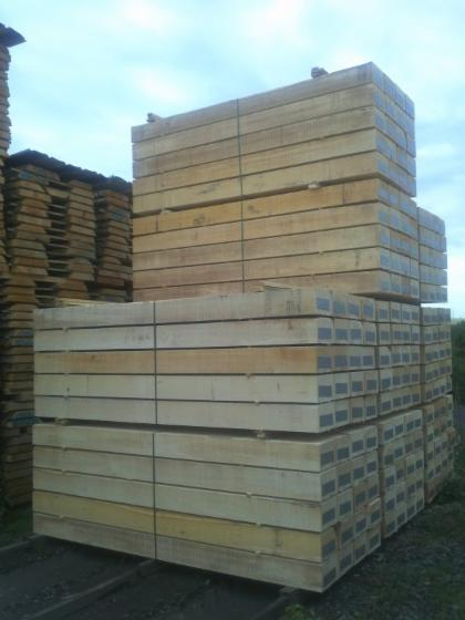 Railway sleepers, Beech (Europe)