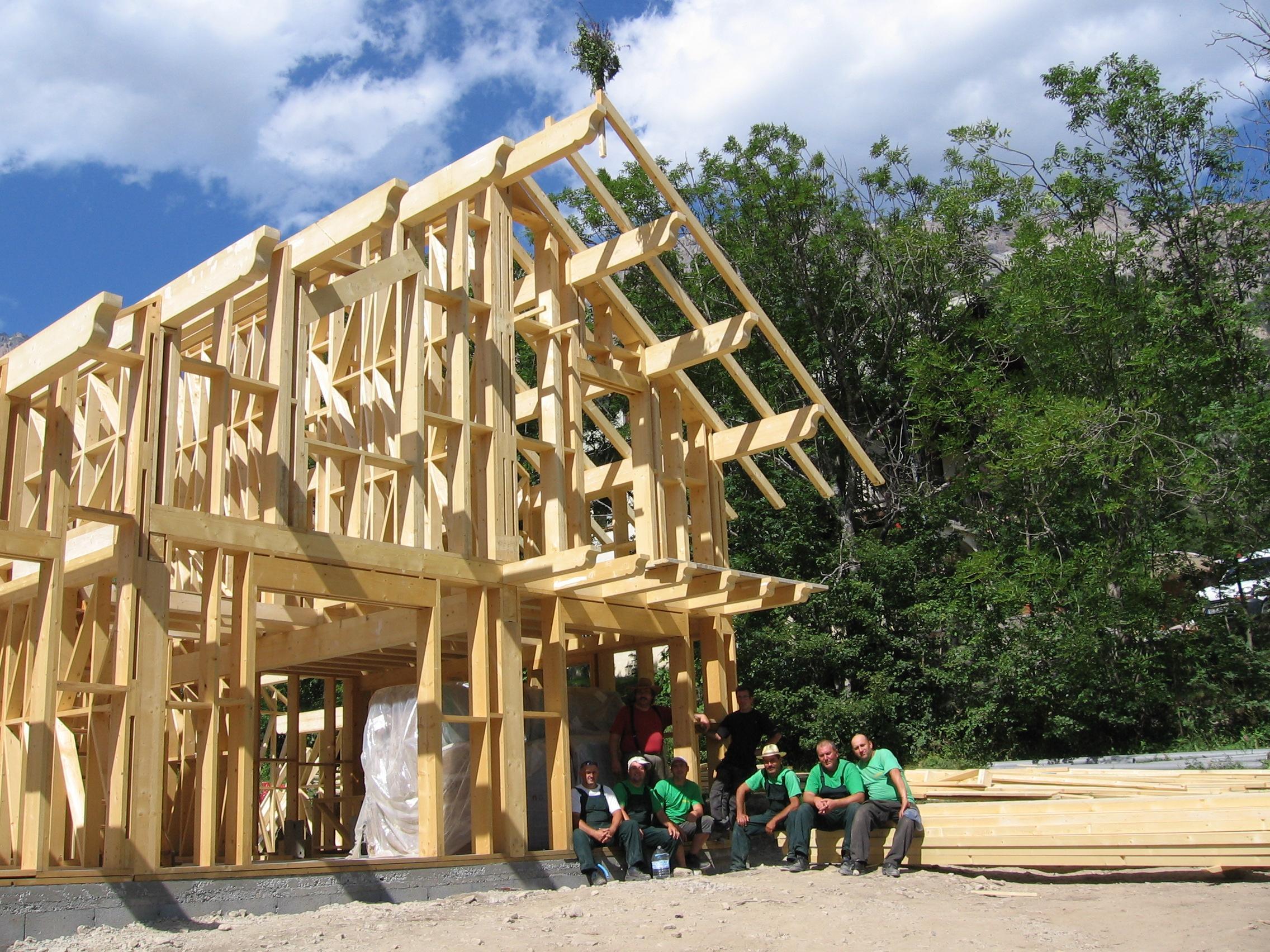 木材经济型别墅