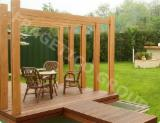 Garden Products - Spruce (Picea Abies) - Whitewood Pergola - Arbour from Romania