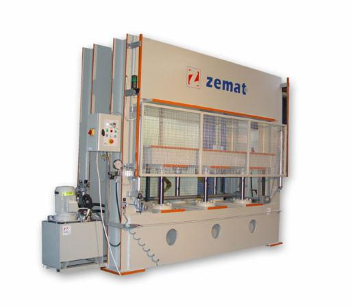 Presses   Clamps   Gluing equipment   FJ equipment, Press (High frequency gluing press)