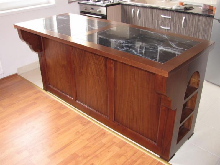 Ensemble de cuisine en bois for Ensemble meuble de cuisine