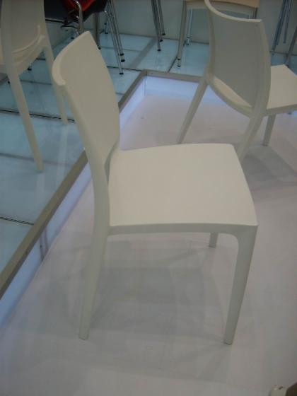 Plastic chair, dining chair, restaurant chair, hotel chair
