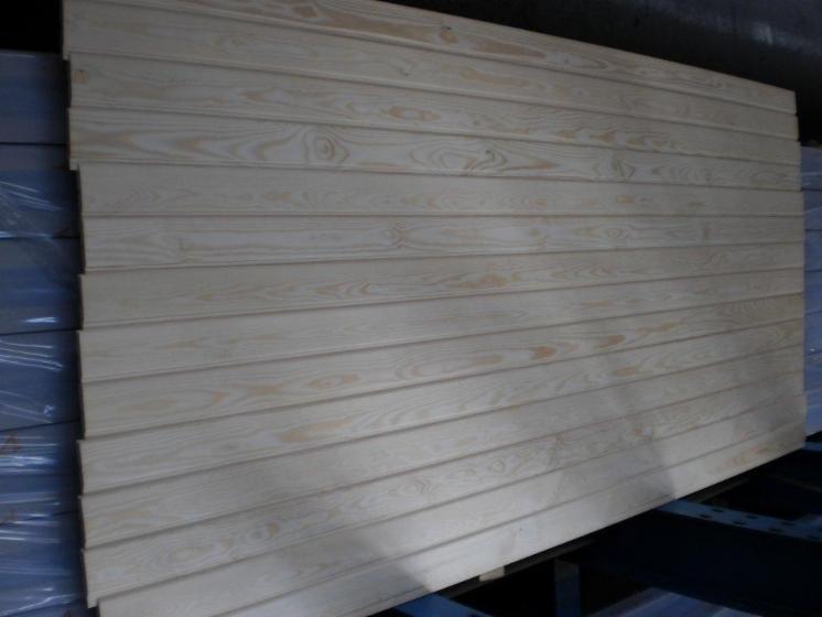 Pino Silvestre Pinus Sylvestris Madera Roja Paneles