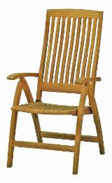 FSC Certified Garden Furniture - 5 Position Garden Teak Chair