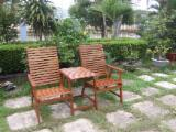 Asia Garden Furniture - Companion Seat - Eucalyptus Garden Sets