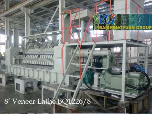 Veneer-peeler-of-plywood-prodution-line