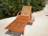 FSC Garden Furniture for sale. Wholesale exporters - Wooden Sun lounger