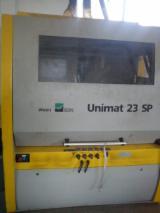 Construction Timber Planer - Used Weinig Unimat 23 SP Construction Timber Planer
