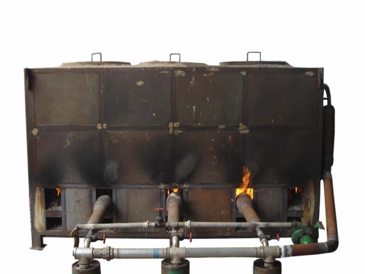 Древесный уголь технология