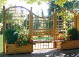 PEFC/FFC Certified Garden Products - PEFC/FFC Fences - Screens from Germany