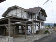 两层别墅框架结构图