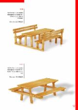 Garden Furniture Pine Pinus Sylvestris - Redwood - Garden sets