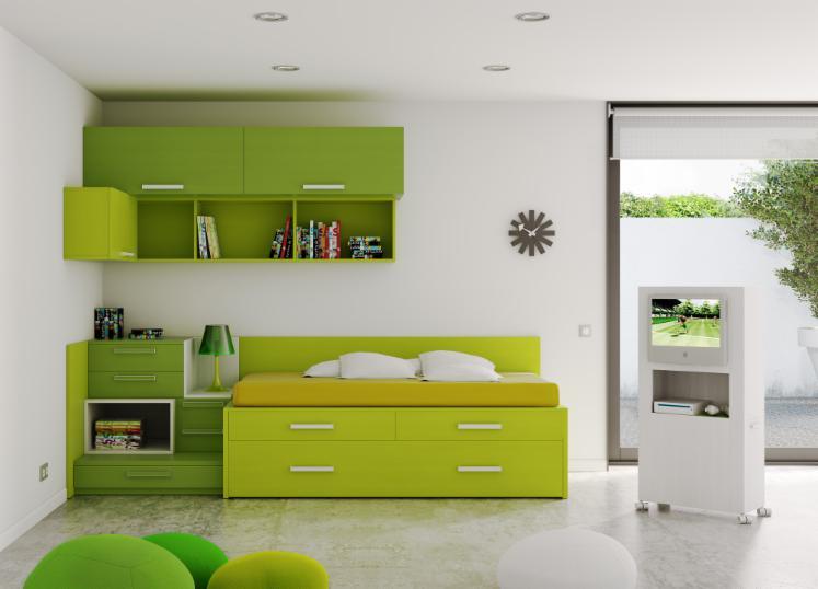 Ensemble pour chambre d 39 enfant design 12 0 16 0 for Chambre container