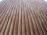 Buy Or Sell  Anti-Slip Decking 1 Side - Brazilian Angelim Amargoso - Fava Decking KD 21 mm x 145 mm