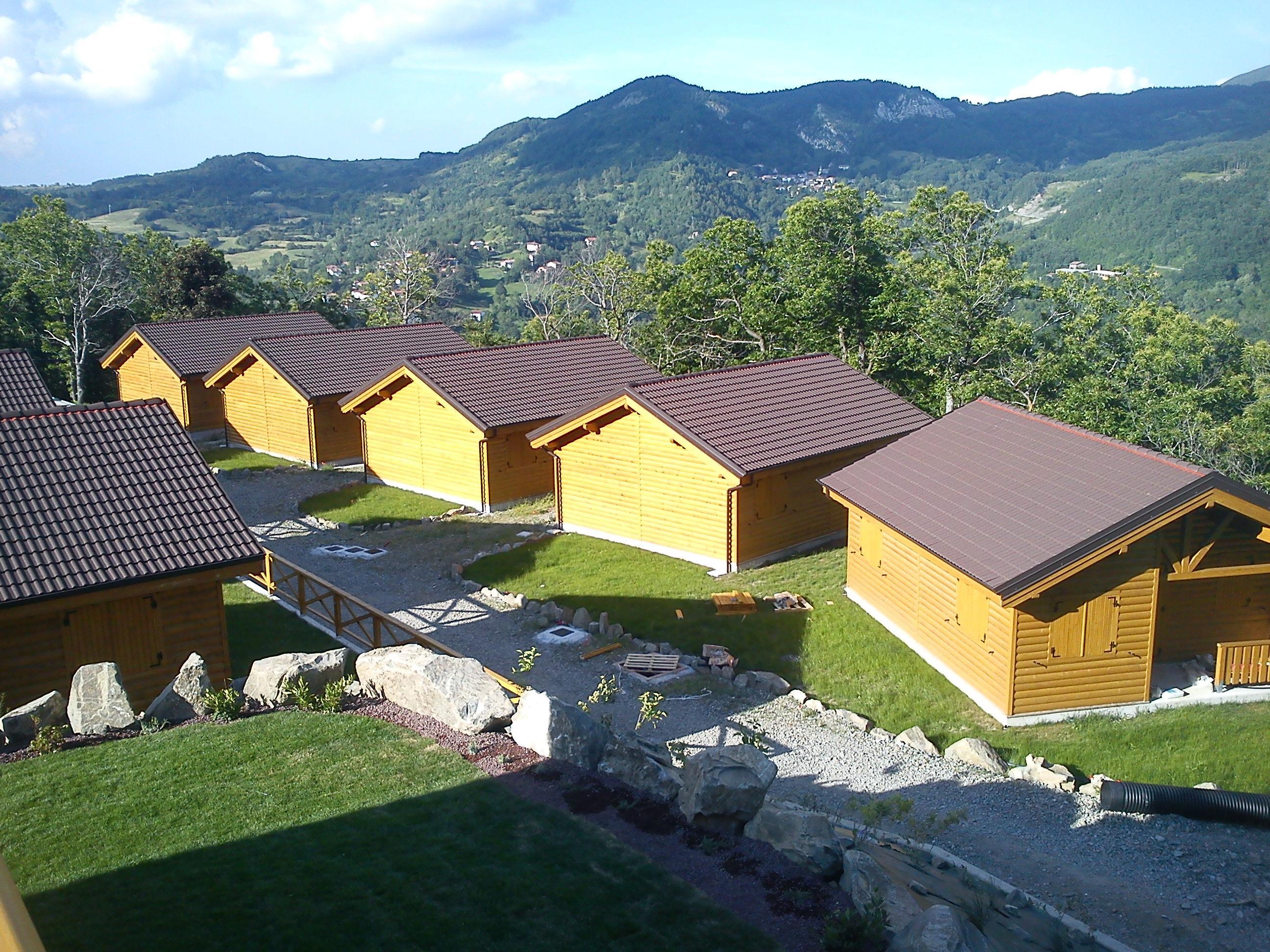 半木质房屋, 云杉-白色木材