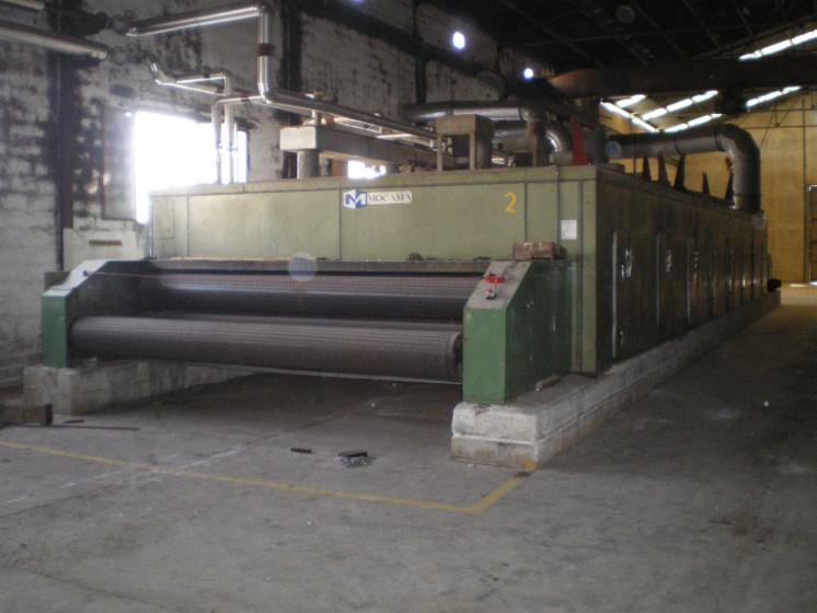 Wood treatement equipment and boilers, SECHOIR A TAPIS