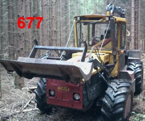 Macchine di movimentazione forestale, Trattore articolato