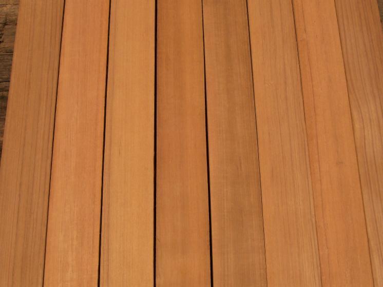 Teak sawn lumber quarter sawn semi quarter sawn for 6 metre decking boards