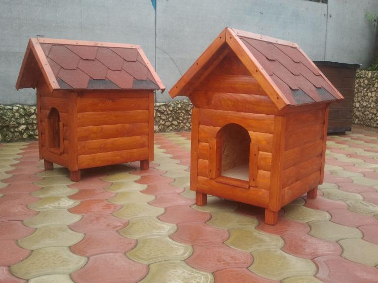 Cucce casette per cani in legno for Cucce per cani in offerta