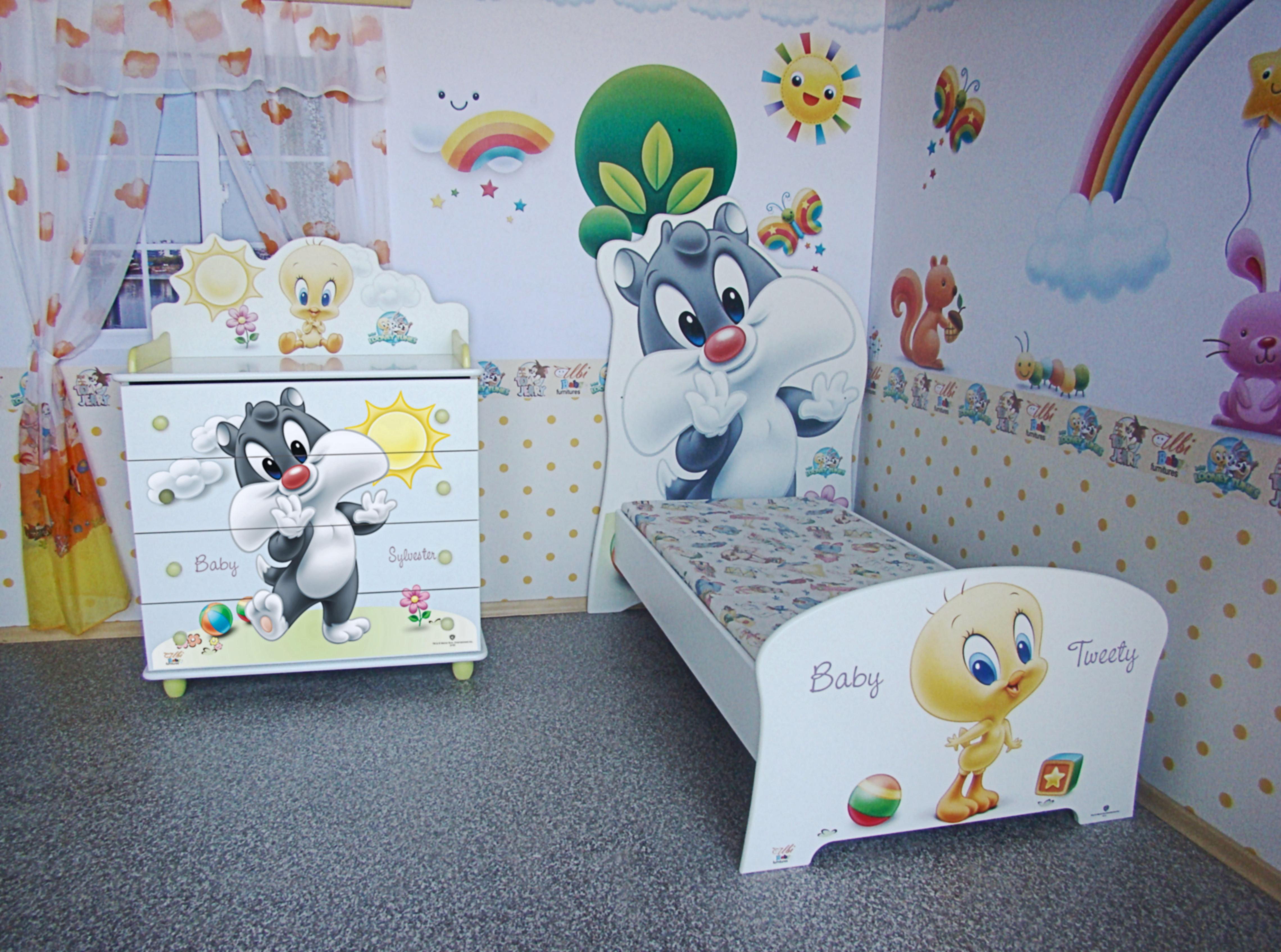 Set camerette per bambini design 5 0 1000 0 pezzi - Camerette design bambini ...